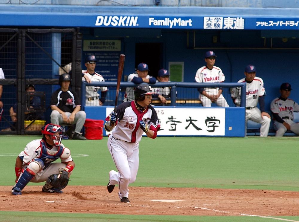 Ohmatsu singles to score Saburo