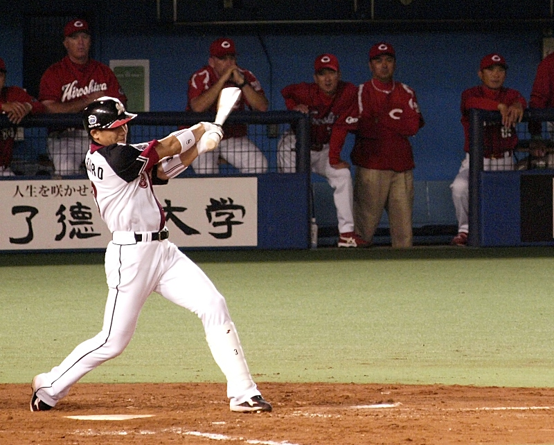 Saburo's RBI single from the 6th