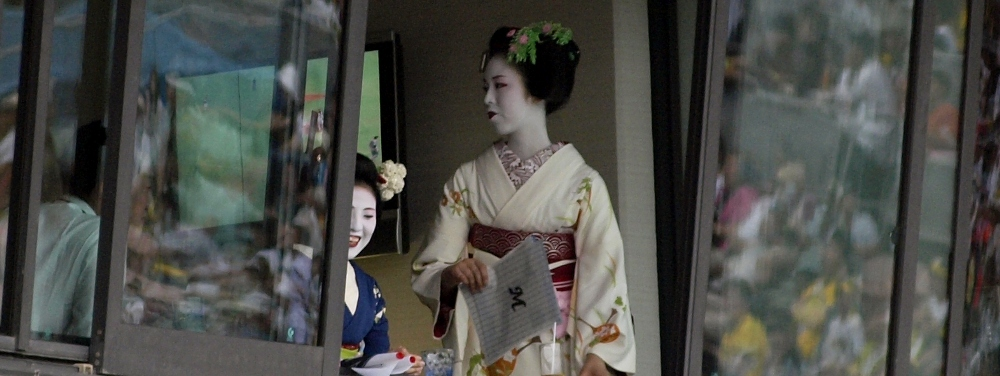 The Maiko were back, and they DO love Marines!