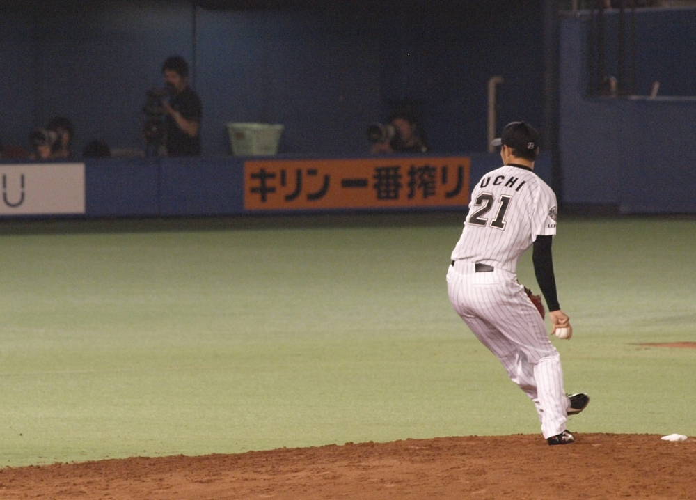 Uchi winds up in the 8th