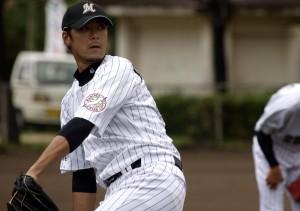 Kobayashi gets warmed up for 2010