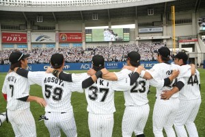 WE ARE! CHIBA LOTTE! photo from marines.co.jp